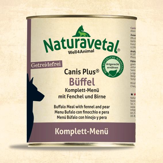 Canis Plus Büffel Komplett-Menü