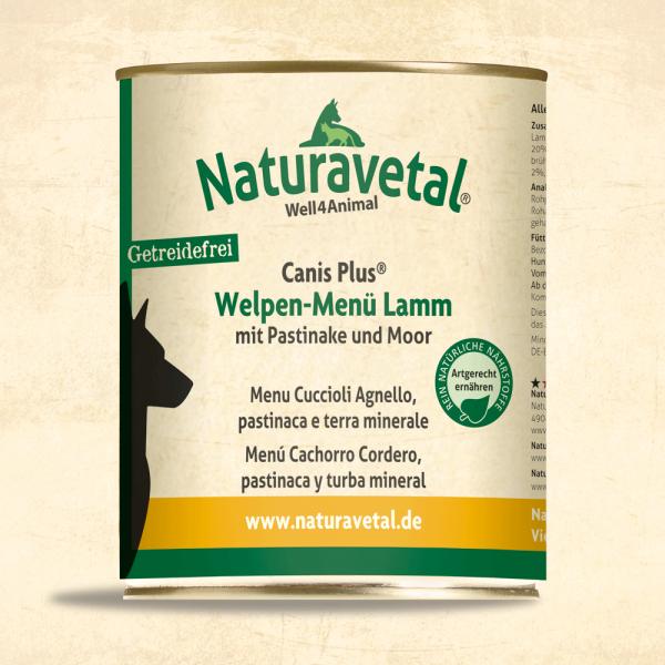 Canis Plus Welpen-Menü Lamm