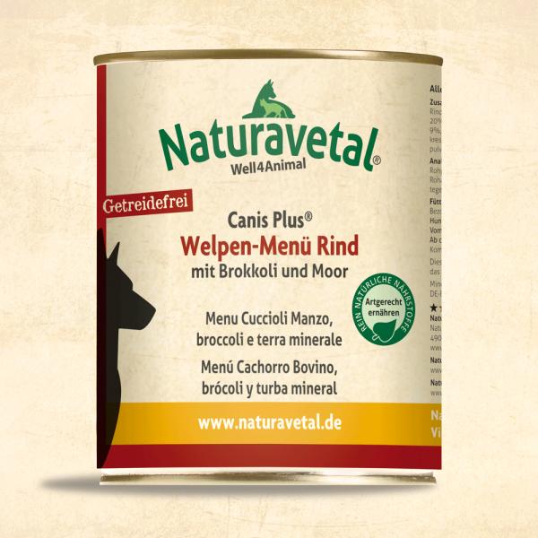 Canis Plus Welpen-Menü Rind