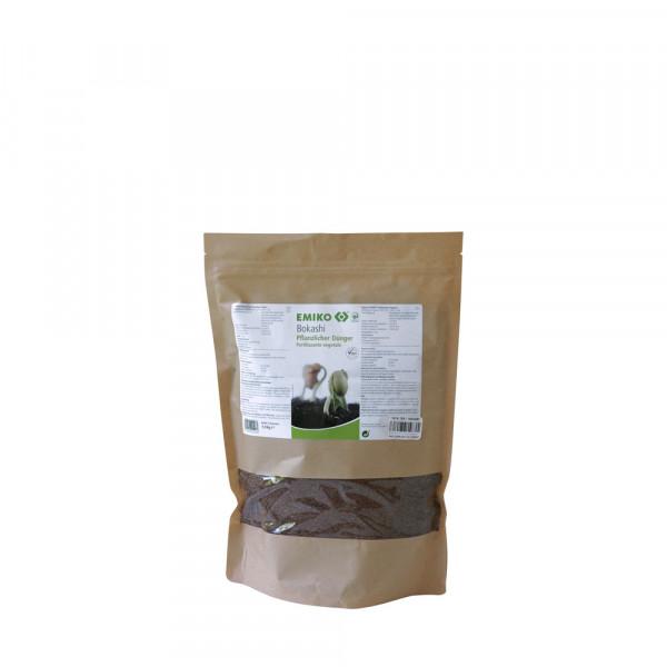 Bokashi pflanzlicher Dünger, 1,0kg