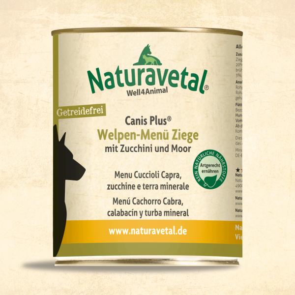 Canis Plus Welpen-Menü Ziege 800g